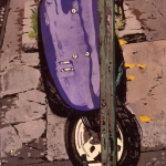 CITY Purple Cycle